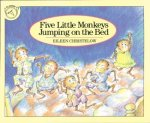 """Cover image for Five Little Monkeys Jumping On the Bed."""